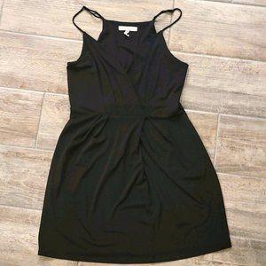 BCBGeneration black wrap style mini dress
